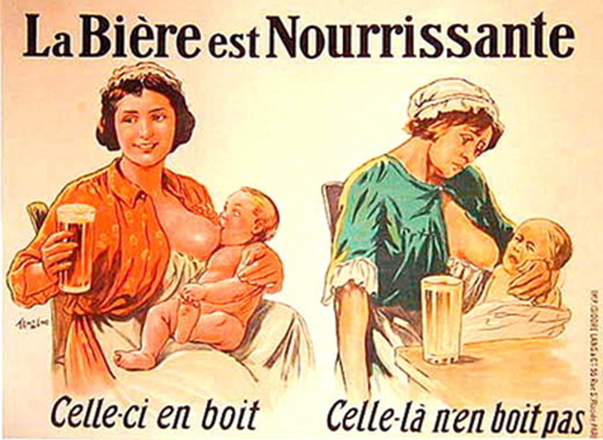 La cerveza es nutritiva